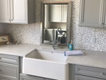 Countertop Kitchen Corian Burled Beach